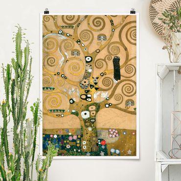 Poster - Gustav Klimt - Tree Of Life - Verticale 3:2