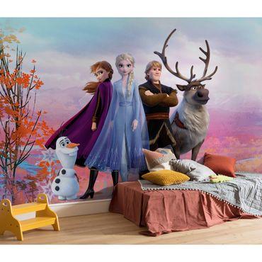 Carta da parati per bambini - Frozen Iconic - Komar fotomurale