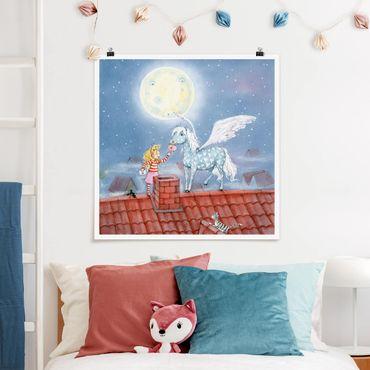 Poster - Magia Pony di Marie - Quadrato 1:1