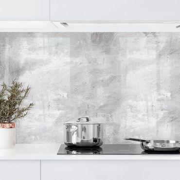 Rivestimento cucina - Ottica cemento industriale