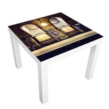 Carta adesiva per mobili IKEA - Lack Tavolino Baker Street