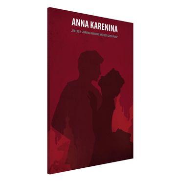 Lavagna magnetica - Poster del film Anna Karenina - Formato verticale 2:3