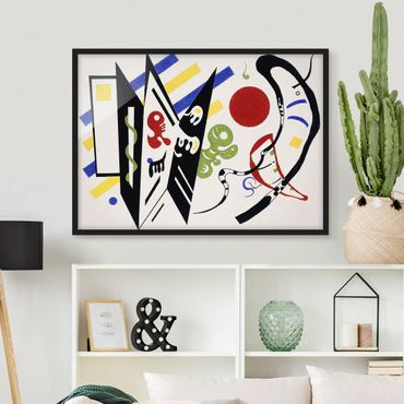 Poster con cornice - Wassily Kandinsky - Reciproque - Orizzontale 3:4