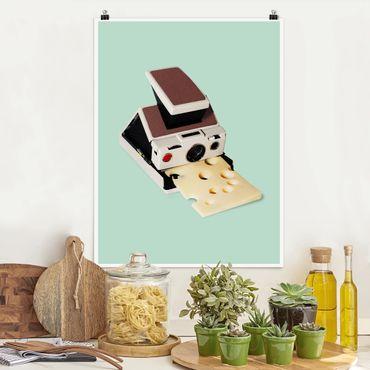 Poster - Camera Con Formaggio - Verticale 4:3