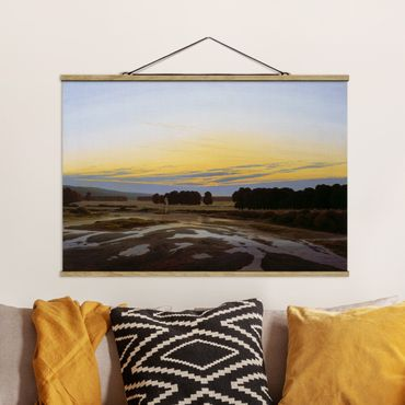 Foto su tessuto da parete con bastone - Caspar David Friedrich - La cabina Big - Orizzontale 2:3