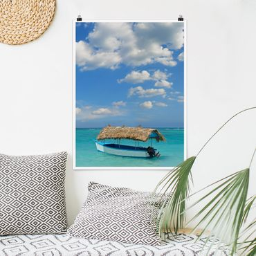 Poster - Tropical Beach - Verticale 4:3
