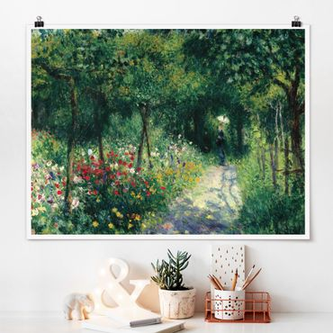 Poster - Auguste Renoir - Women In The Garden - Orizzontale 3:4