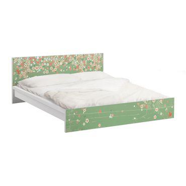 Carta adesiva per mobili IKEA - Malm Letto basso 180x200cm No.EK236 Spring Background