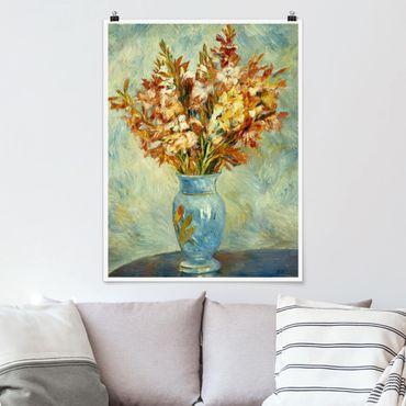 Poster - Auguste Renoir - Gladioli In Vaso - Verticale 4:3