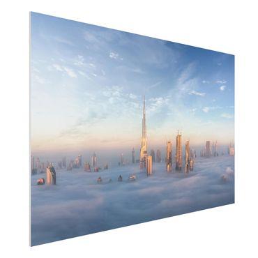 Quadro in forex - Dubai Sopra Le Nuvole - Orizzontale 3:2