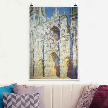 Poster - Claude Monet - Cattedrale di Rouen - Verticale 3:2