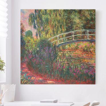 Quadri su tela - Claude Monet - Ponte di giapponese di Giverny