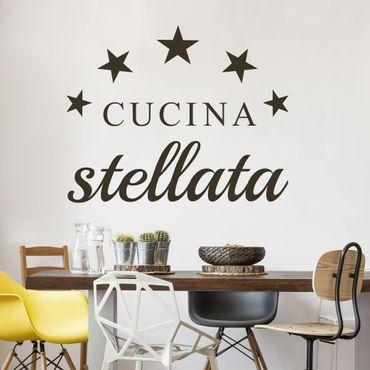 Adesivo murale No.BR262 Cucina Stellata
