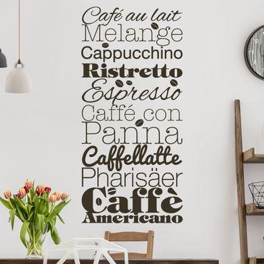 Adesivo murale No.EV64 Caffè