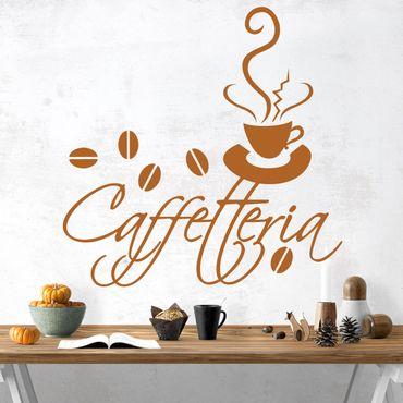Adesivo murale No.SF162 Caffetteria