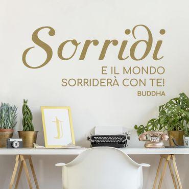 Adesivo murale No.SF985 Sorriso