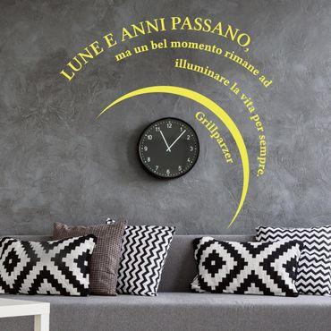 Adesivo murale No.UL180 Lune e anni