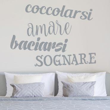 Adesivo murale No.UL364 Coccole & more