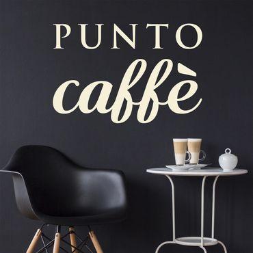 Adesivo murale No.UL492 Punto Caffè