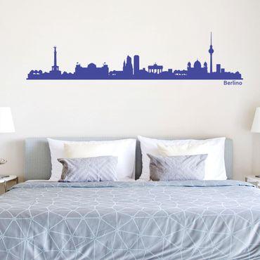 Adesivo murale Skyline Berlino