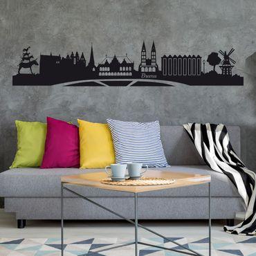 Adesivo murale Skyline Brema