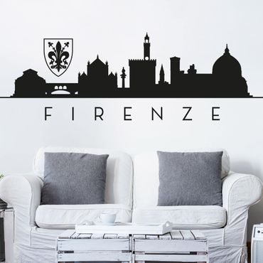 Adesivo murale Skyline Firenze