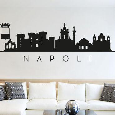 Adesivo murale Skyline Napoli