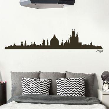 Adesivo murale Skyline Praga II