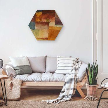 Esagono in legno - Paul Klee - Wasteland