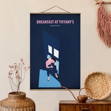 Foto su tessuto da parete con bastone - Poster del film Colazione da Tiffany - Verticale 3:2
