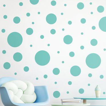 Adesivo murale - Punti Confetti Set