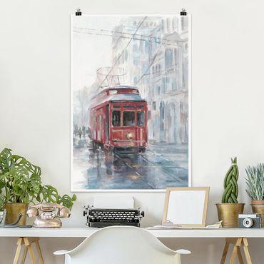 Poster - Tram Study II - Verticale 3:2