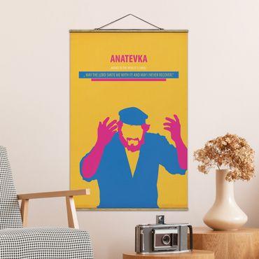 Foto su tessuto da parete con bastone - Film Poster Anatevka - Verticale 3:2