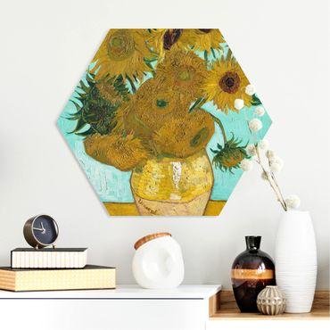 Esagono in forex - Vincent Van Gogh - Vaso con girasoli