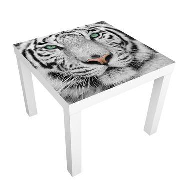 Carta adesiva per mobili IKEA - Lack Tavolino White Tiger