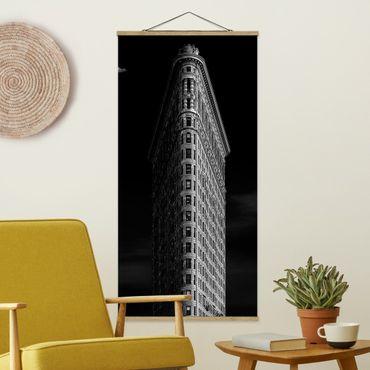 Foto su tessuto da parete con bastone - Flatiron Building - Verticale 2:1