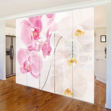 Tende scorrevoli set - Delicate Orchids