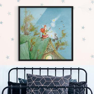 Poster con cornice - Frida And Tomcat Pumpernickel Set The Star Free - Quadrato 1:1