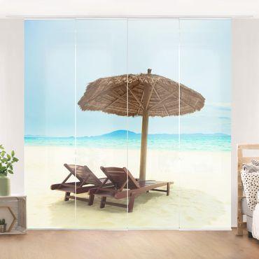 Tende scorrevoli set - Beach Of Dreams
