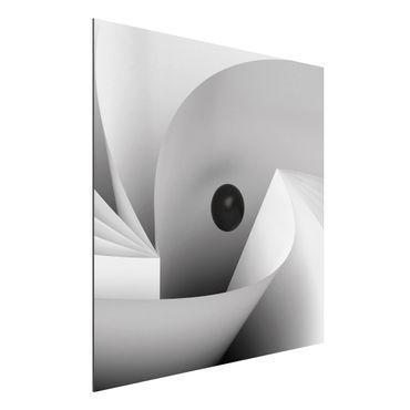 Quadro in alluminio - Big Eye