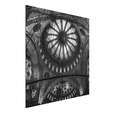Quadro in alluminio - Le cupole della Moschea Blu