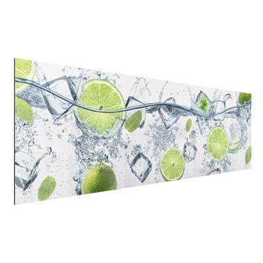 Quadro in alluminio - Refreshing lime