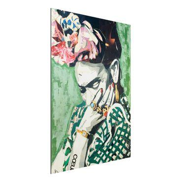 Quadro in alluminio - Frida Kahlo - Collage No.3