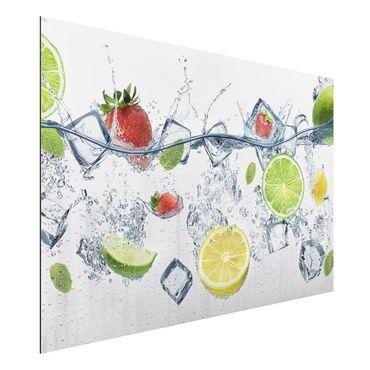 Quadro in alluminio - Fruit Cocktail