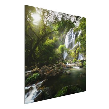 Quadro in alluminio - Mountain Stream