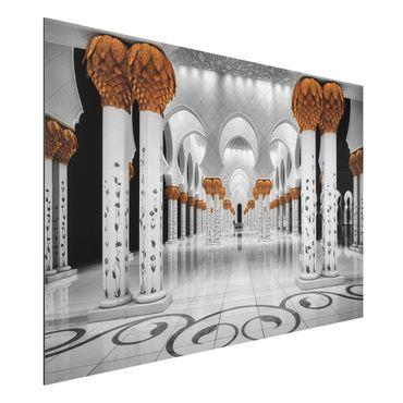 Quadro in alluminio - In The Mosque