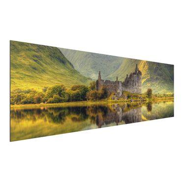 Quadro in alluminio - Castello di Kilchurn in Scozia