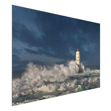Quadro in alluminio - Faro in Sardegna