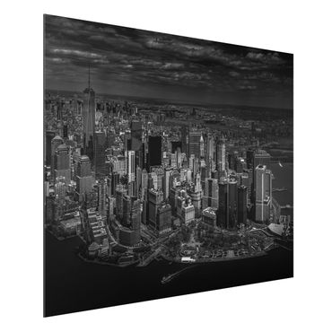 Quadro in alluminio - New York - Manhattan da The Air