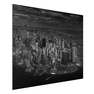 Quadro in alluminio - New York - Manhattan da The Air